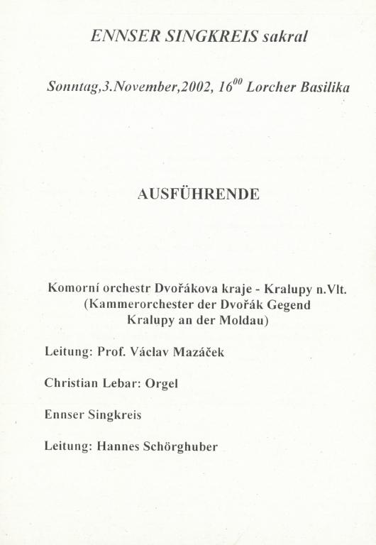 2002_ENNS_LORCHER_BASILIKA_PROGRAM_2002_11_04